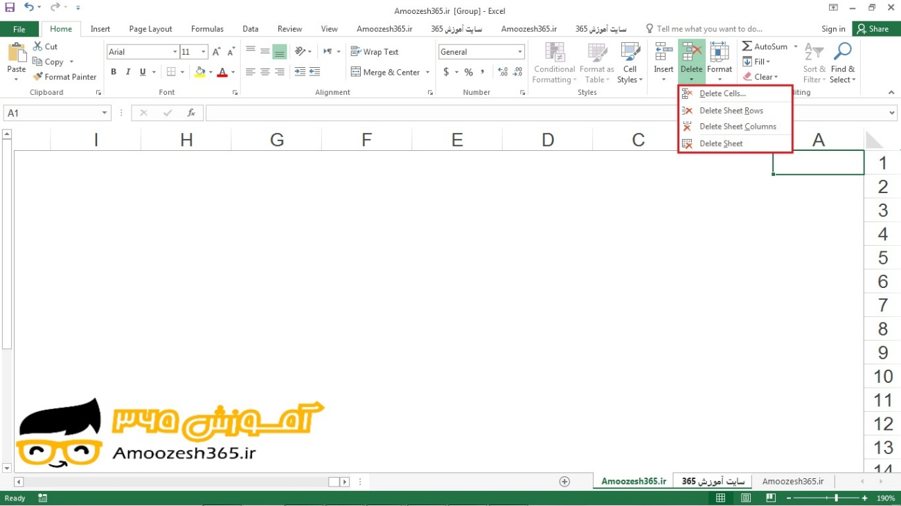 how to delete line in word excel 2017