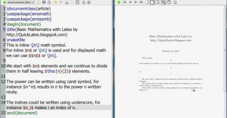 آموزش متوسطه نرم افزار لاتکس