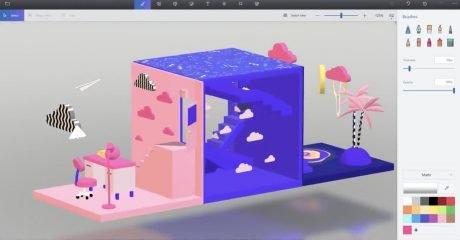 آموزش متوسطه Paint 3D