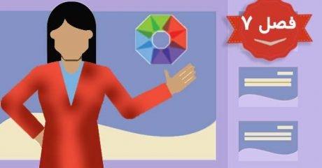 تنظیمات بک گراند و انیمیشن یا متحرک سازی در فوکاسکی  Focusky