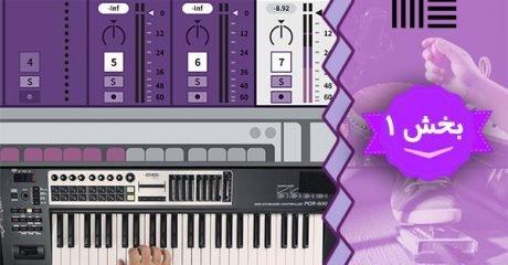 آموزش نرم افزار آهنگ سازی و میکس موزیک ابلتون لایو Ableton Live – بخش 1