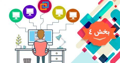آموزش نصب سیستم عامل مجازی با نرم افزار VMWare وی ام ویر– بخش 4
