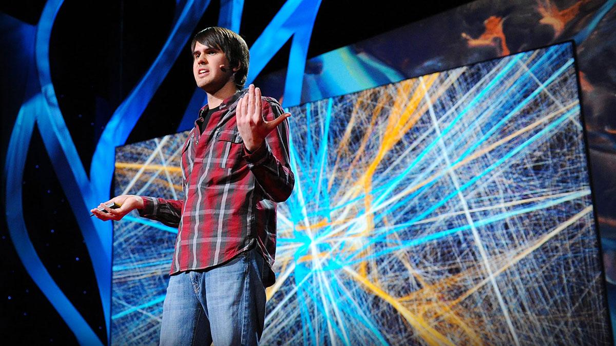 سخنرانی تد : آرون کبلین: تصویر هنرمندانه انسانیتمان