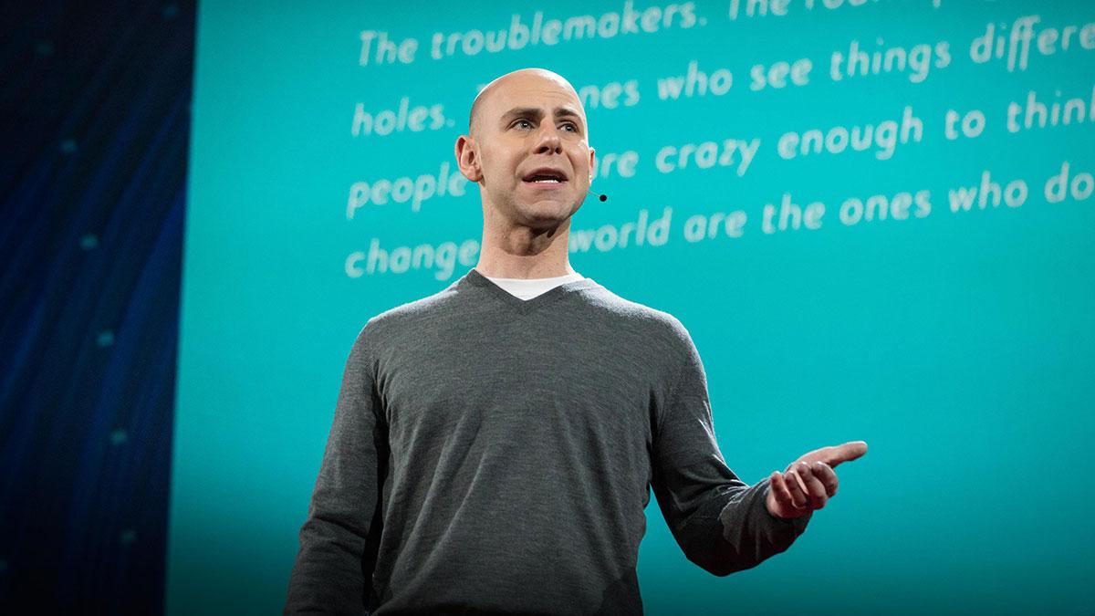 سخنرانی تد : عادت های عجیب اندیشمندان مبتکر