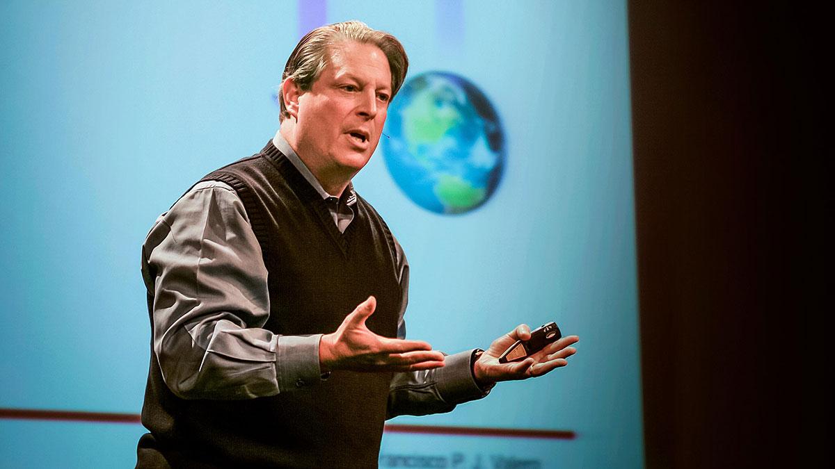 سخنرانی تد : ال گور درباره جلوگیری از بحران آب و هوایی میگوید