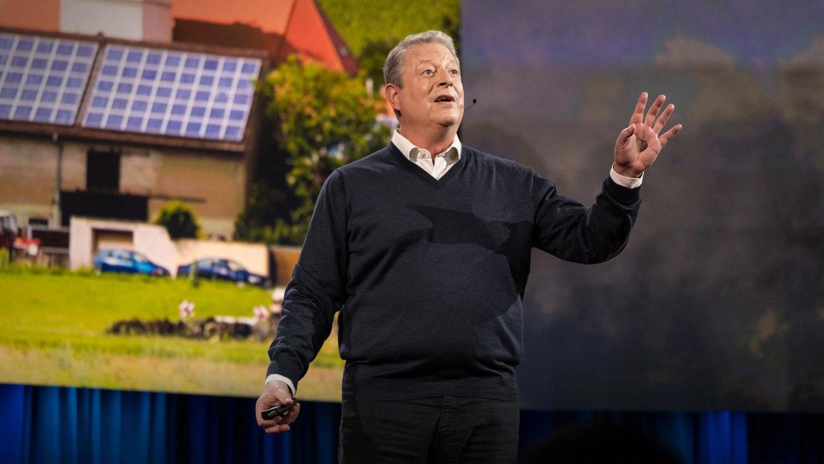 سخنرانی تد : چرا باید در تغییرات آب و هوایی خوشبین باشیم