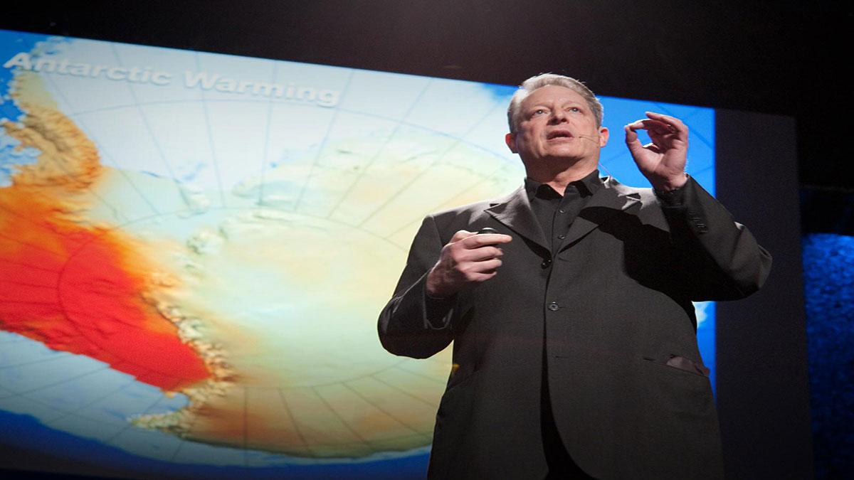 سخنرانی تد : ال گور نسبت به آخرین روندهای آب و هوایی اخطار میدهد