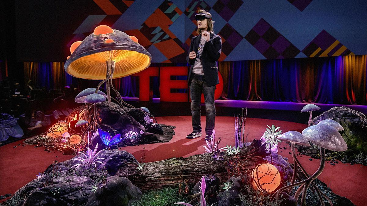 سخنرانی تد : طلوعی در عصر تصاویر سه بعدی