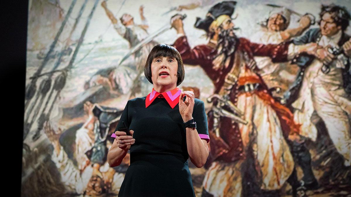 سخنرانی تد : دزدان دریایی، پرستاران و سایر طراحان آشوبگر