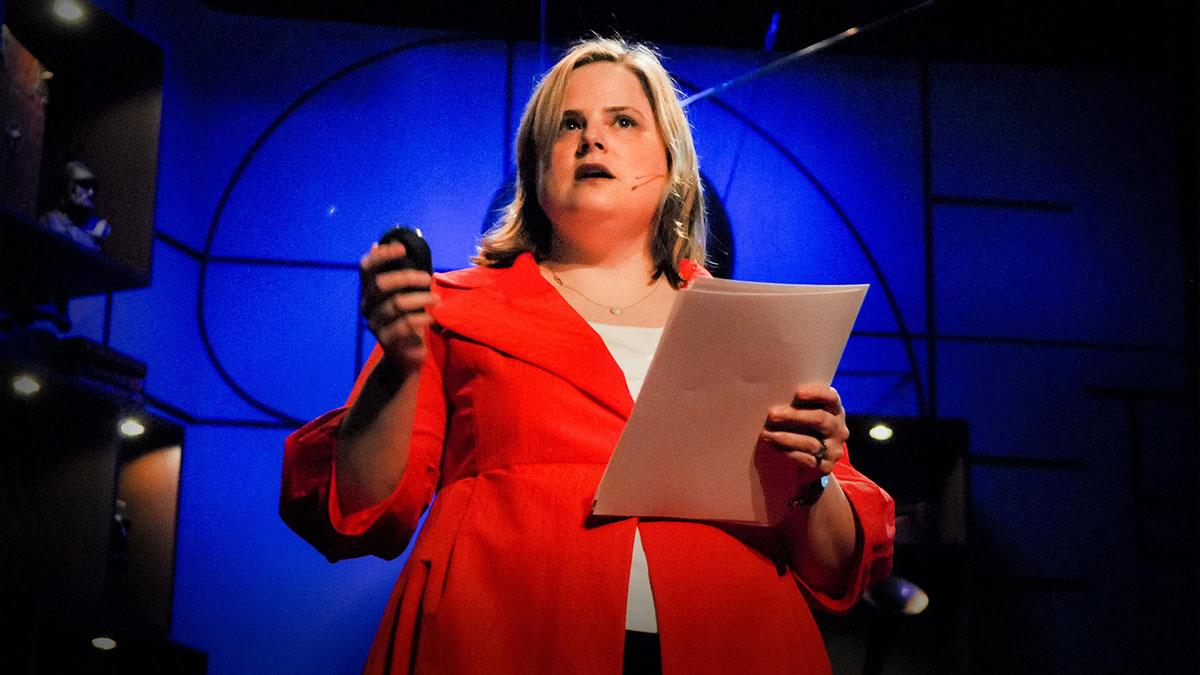 سخنرانی تد : آليسا ميلر اخبار را در مورد اخبار با ما در ميان ميگذارد