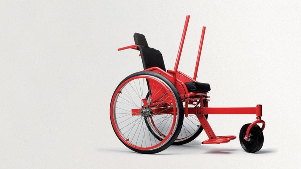 سخنرانی تد : صندلی چرخداری ارزان و مناسب برای تمامی شرایط زمین