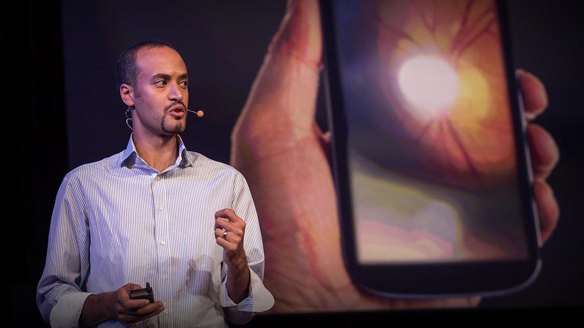 سخنرانی تد : معاینه بعدی چشم خود را از طریق گوشی تلفن هوشمند انجام دهید