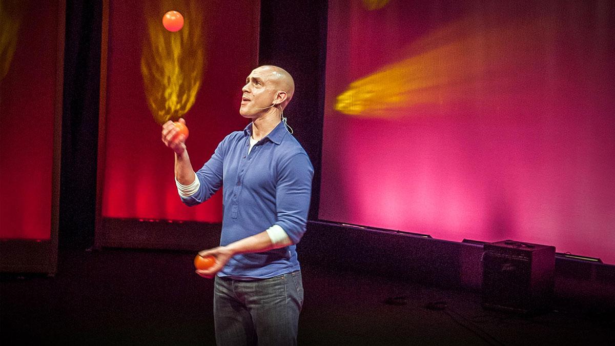 سخنرانی تد : اندی پادیکامب: فقط با ده دقیقه تمرکز