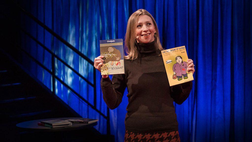سخنرانی تد : سالی که یک کتاب از هر کشوری در دنیا خواندم