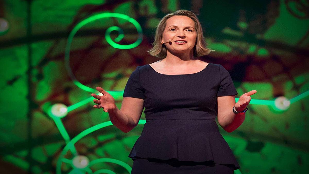 سخنرانی تد : Annette Heuser