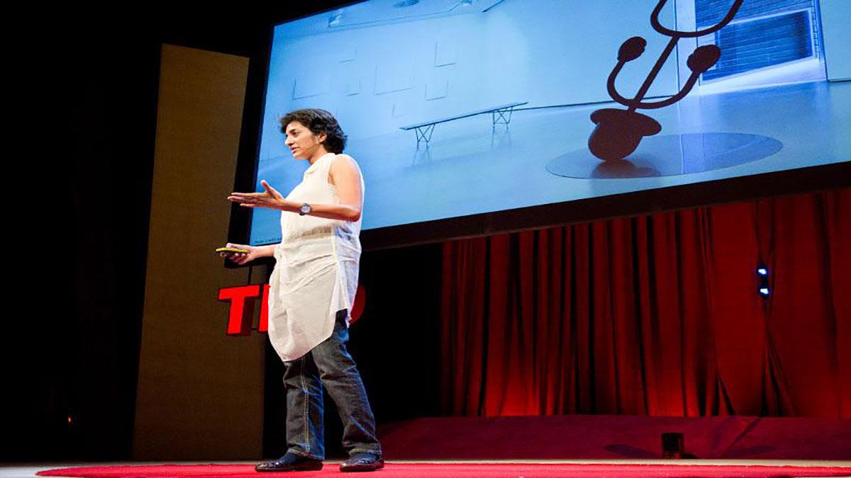 سخنرانی تد : آپارنا رائو : هنر با تکنولوژی بالا (توأم حس شوخ طبعی)