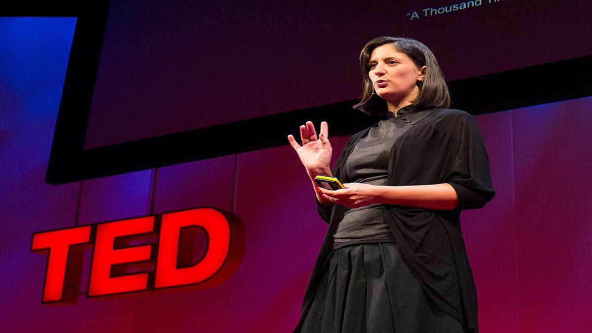 """سخنرانی تد : باهیا شهاب، هزاران بار """"نه"""""""