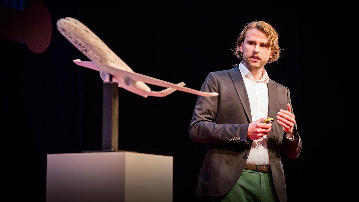 سخنرانی تد : جامبو جتی که بصورت سه بعدی پرینت شده؟