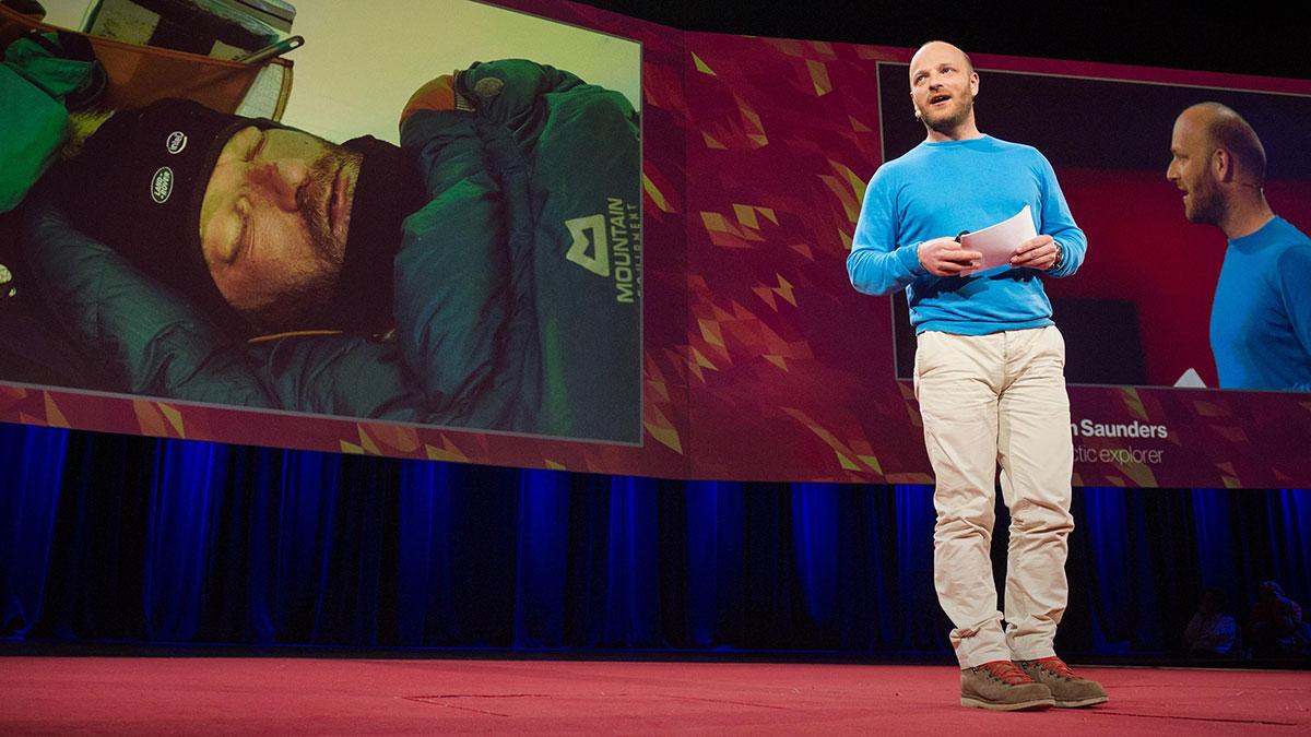 سخنرانی تد : رفت و برگشت از قطب جنوب- دشوارترین ۱۰۵ روز زندگی ام