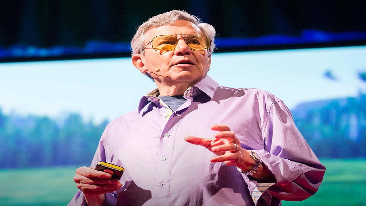 سخنرانی تد : صدای جهان طبیعت