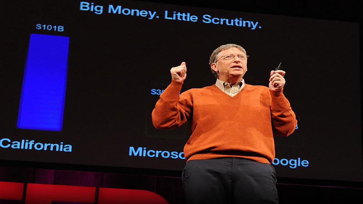 سخنرانی تد : بیل گیتس: چگونه بودجه های ایلاتی مدارس آمریکا رو نابود می شود