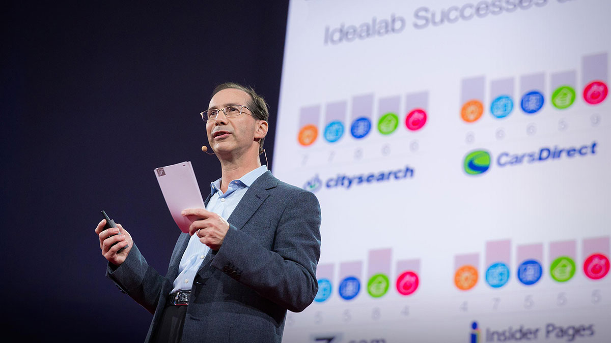 سخنرانی تد : عمدهترین دلیل موفقیت شرکتهای نوپا (استارتآپها)