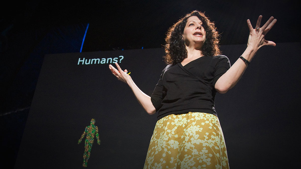 سخنرانی تد : بونی باسلر در مورد گفتگوی باکتری ها صحبت می کند