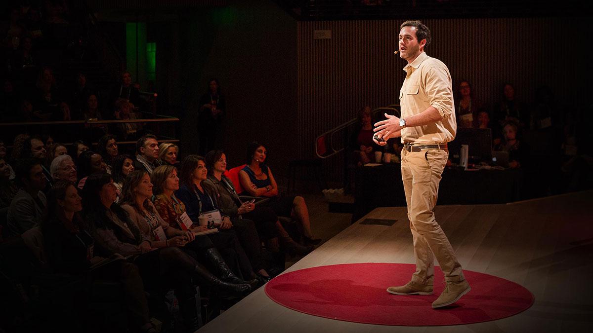 سخنرانی تد : چیزی که من از نلسون ماندلا یاد گرفتم