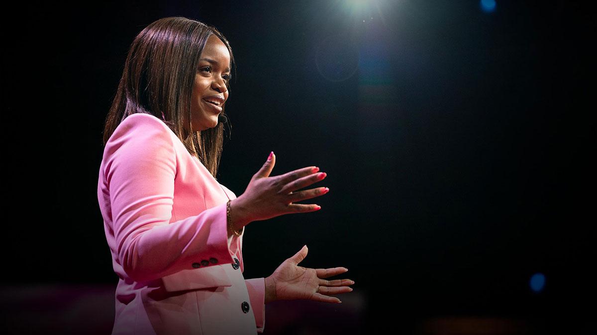 سخنرانی تد : چگونه اعتماد به نفس خود را افزایش دهیم — و آن را در دیگران ایجاد کنیم