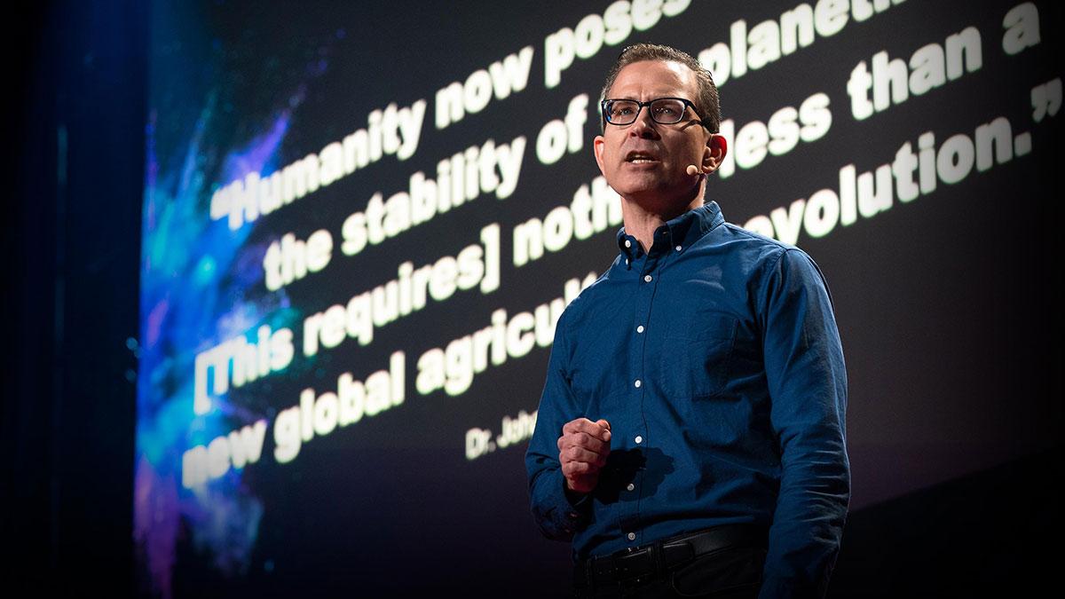 سخنرانی تد : انقلاب پیش رو در کشاورزی جهانی