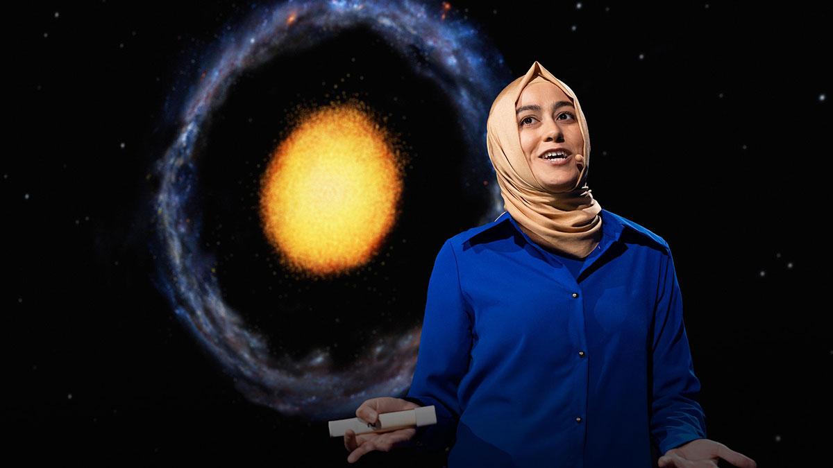 سخنرانی تد : کهکشانی کمیاب که فهم ما از کیهان را به چالش میکشد