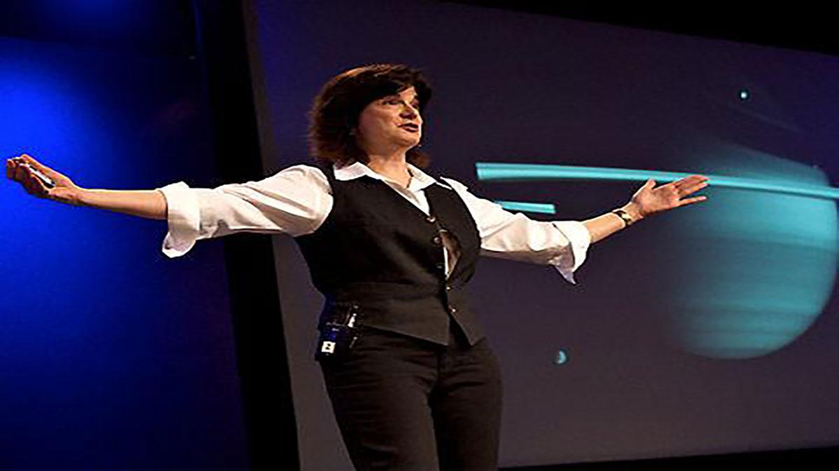 سخنرانی تد : کارولین پورکو ما را به زحل می برد