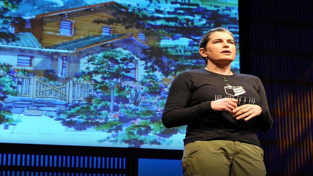 سخنرانی تد : کاترین مور سبز( حفاظت ار محیط زیست) می سازد