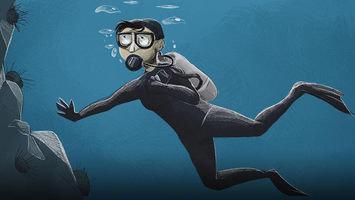 سخنرانی تد : چطور بخشی توتیای دریایی شدم