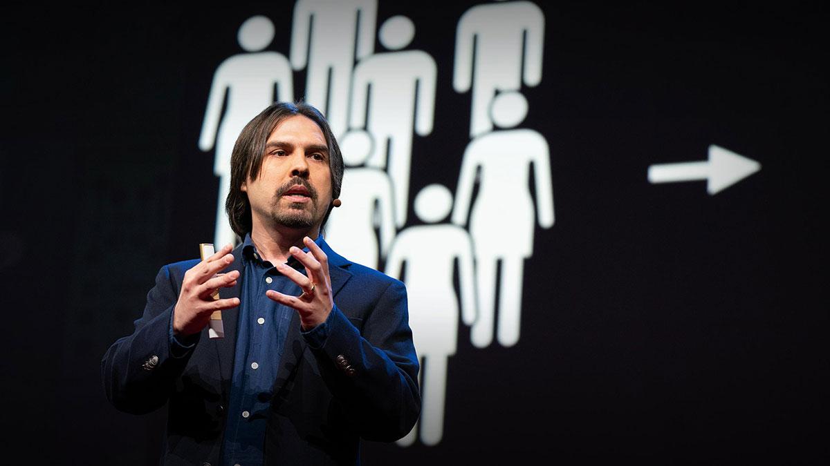 سخنرانی تد : ایدهای جسورانه برای جایگزینشدن با سیاستمداران