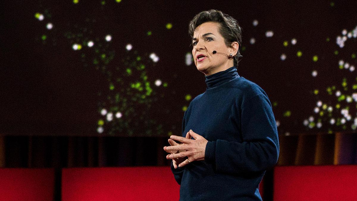 سخنرانی تد : داستان پس پرده توافقنامه اقلیمی پاریس