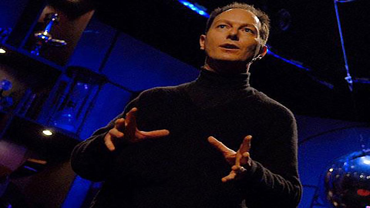 سخنرانی تد : کریستوفر دی چارمز مغز را بلادرنگ اسکن می کند.