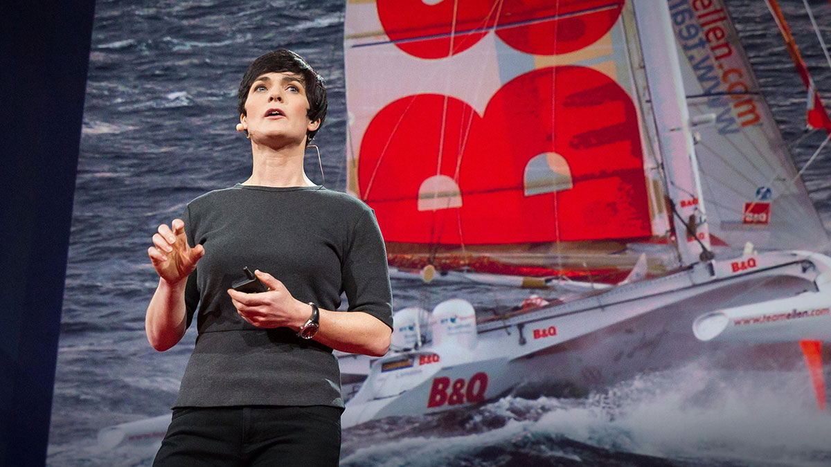 سخنرانی تد : موضوعات شگفتانگیزی که از قایقرانی انفرادی به دور دنیا دریافتم