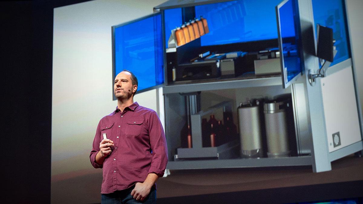 سخنرانی تد : چگونه DNA مصنوعی بسازیم و آن را به سرتاسر اینترنت بفرستیم