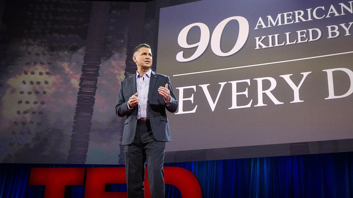 سخنرانی تد : چرا خشونت مسلحانه نمی تواند هنجار تازه ما باشد