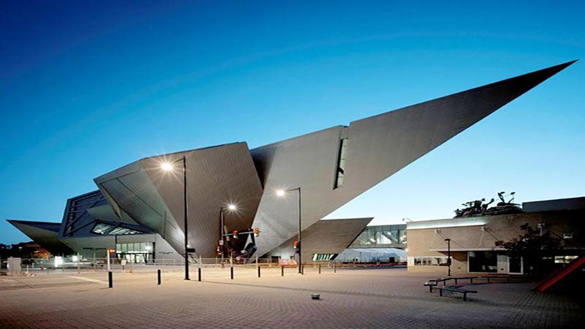 سخنرانی تد : 17 عبارت از دنیل لیبسکیند در مورد الهام معماری