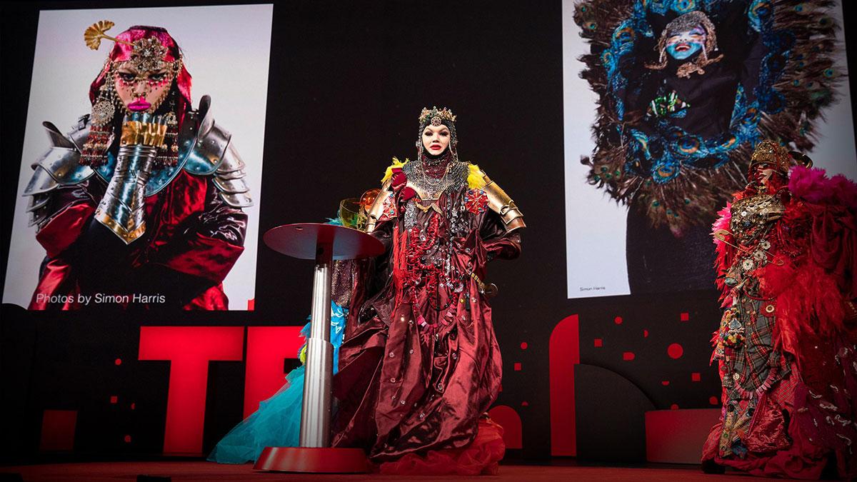 سخنرانی تد : زندگی من بعنوان یک اثر هنری