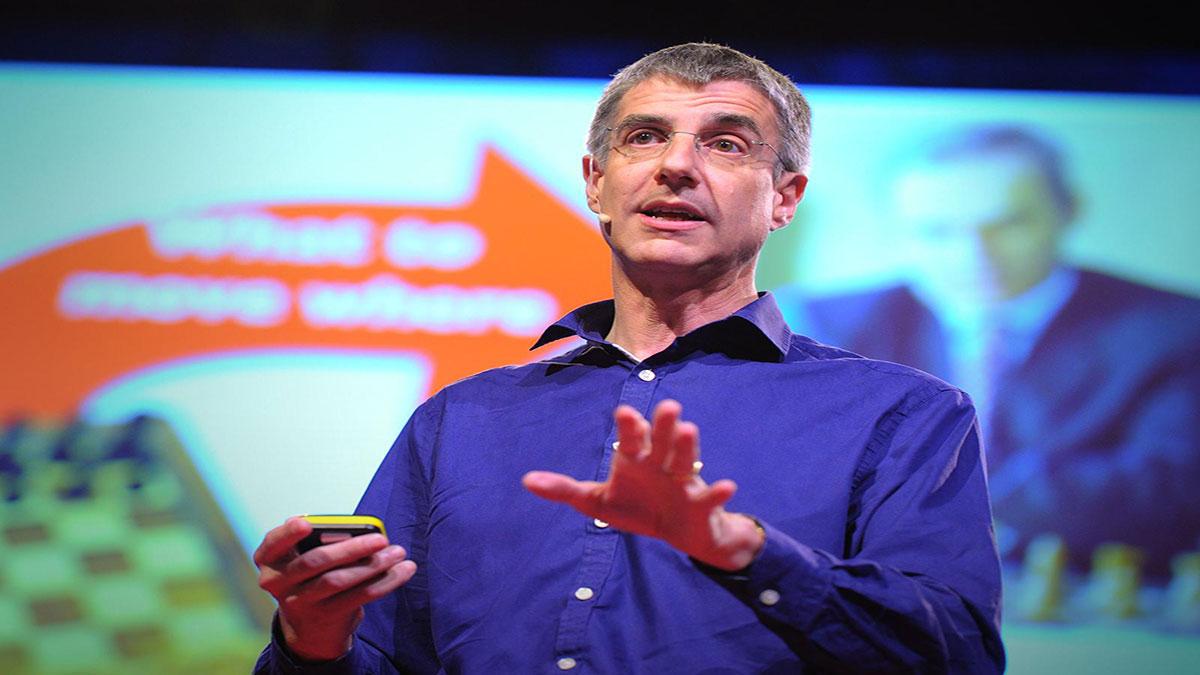 سخنرانی تد : دیوید ولپرت: دلیل اصلی وجود مغز