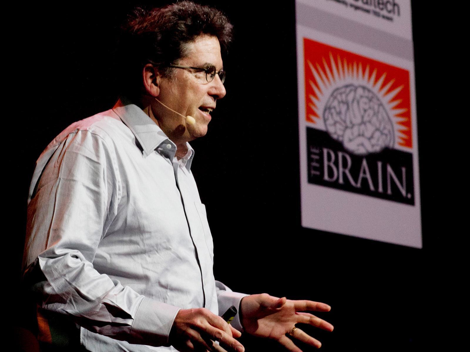 سخنرانی تد : مغز ما بیش از یک کیسه حاوی مواد شیمیایی است