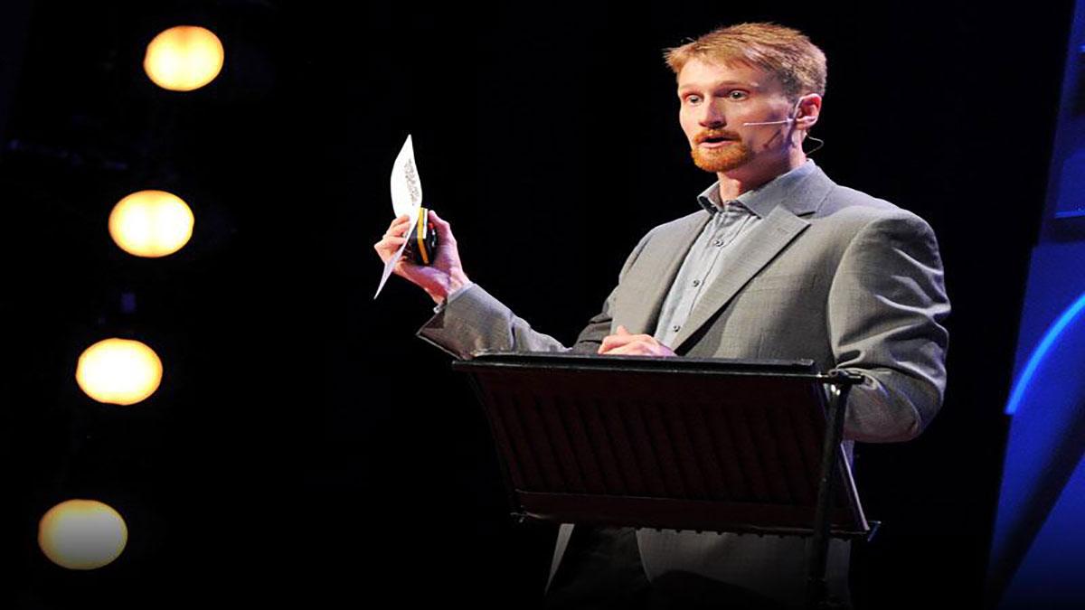 سخنرانی تد : دیوید بیسمارک: رای گیری االکترونیکی بدون تقلب