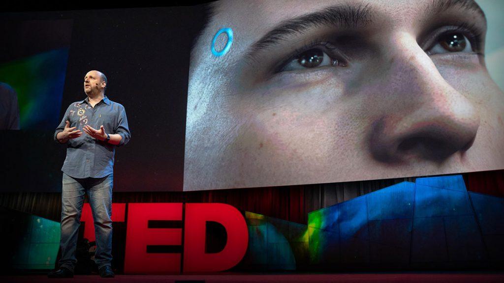 سخنرانی تد : چگونه بازیهای ويدئويی بازيكنان را به داستانسرايان تبديل میكند.