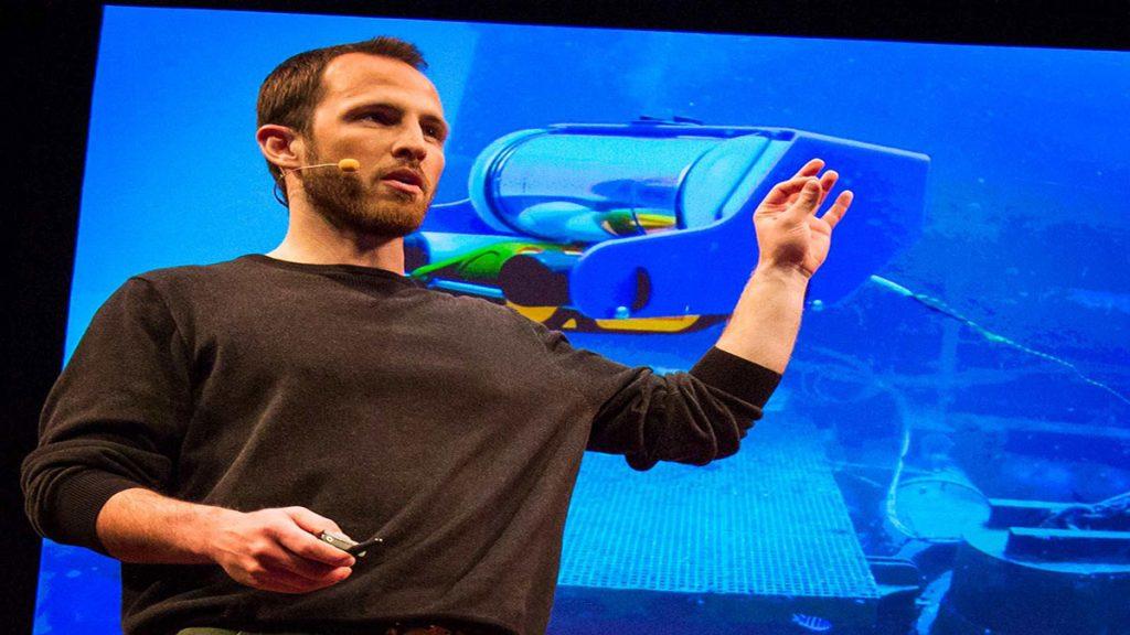 سخنرانی تد : ربات زیردریایی من
