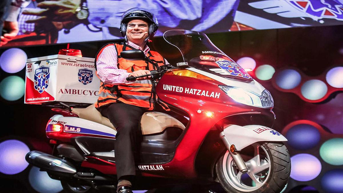 سخنرانی تد : سریعترین آمبولانس چیست؟ یک موتورسیکلت