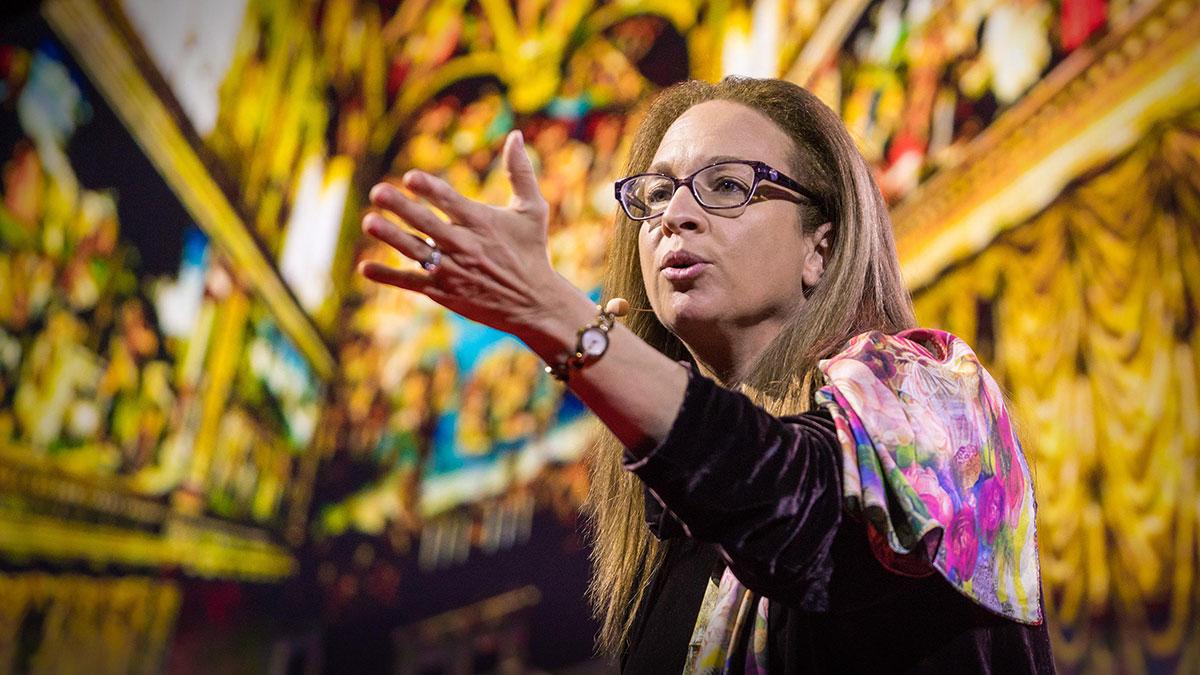 سخنرانی تد : داستان ناشنیده از کلیسای سیستین