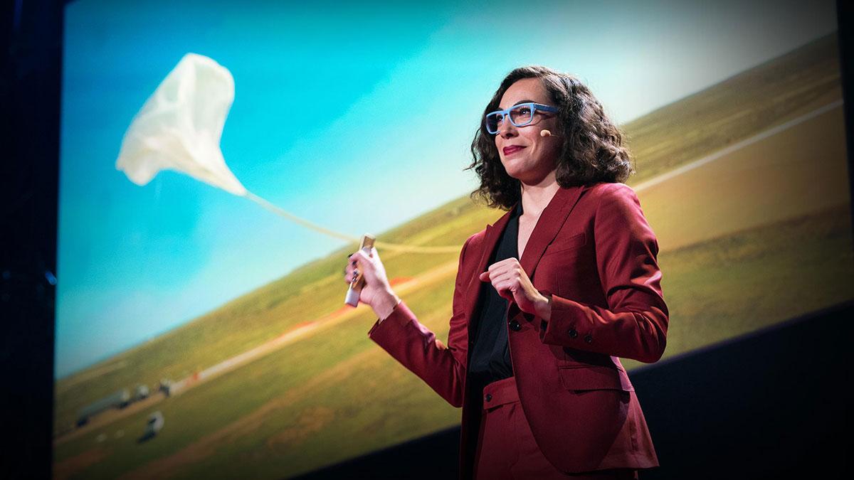 سخنرانی تد : راه اندازی یک تلسکوپ نیازمند چه چیزهایی است